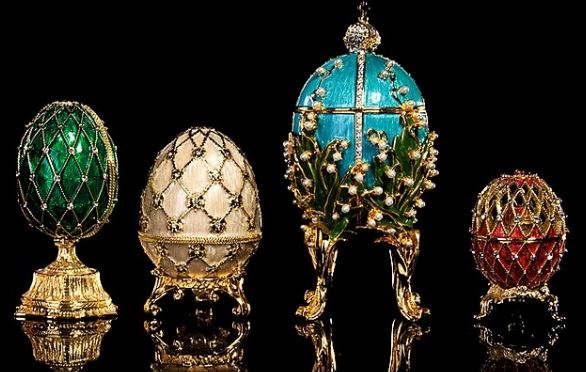Russian Billionaire to Revive Faberge Jewelry Brand