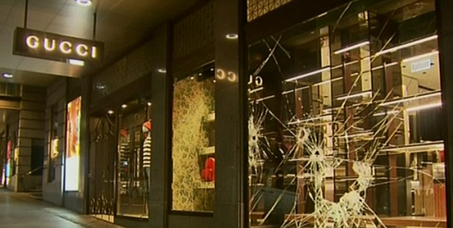 Second Luxury Boutique Robbed in Sydney