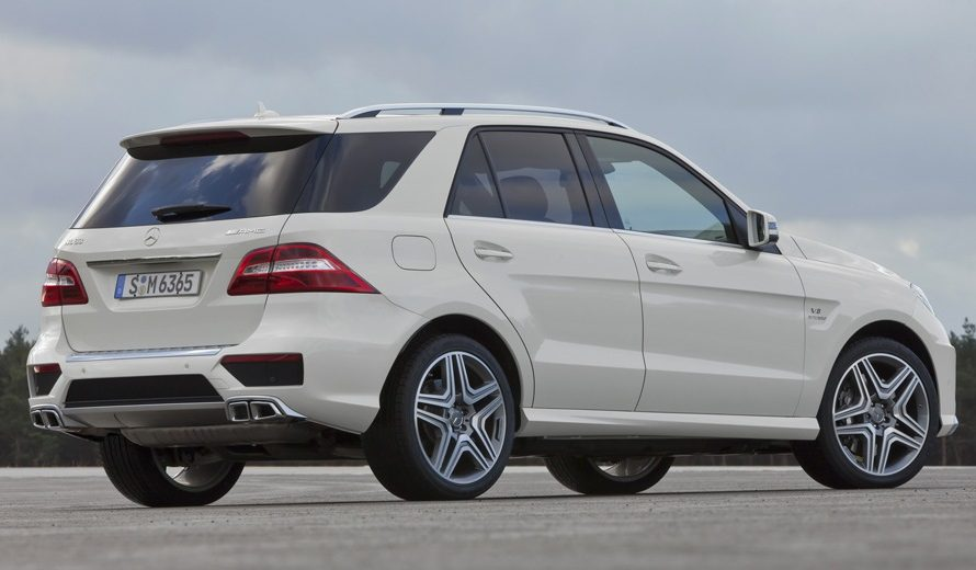 The Best Luxury SUV: Mercedes-Benz ML 63 AMG