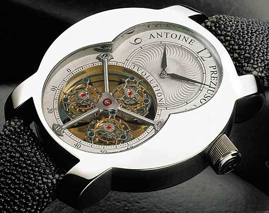 Antoine Preziuso 3 Volution Triple Tourbillon