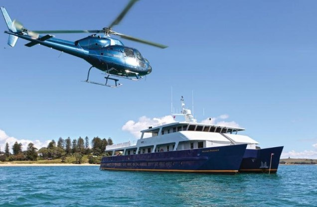 Largest Luxury Charter Vessel Launched in New Zealand