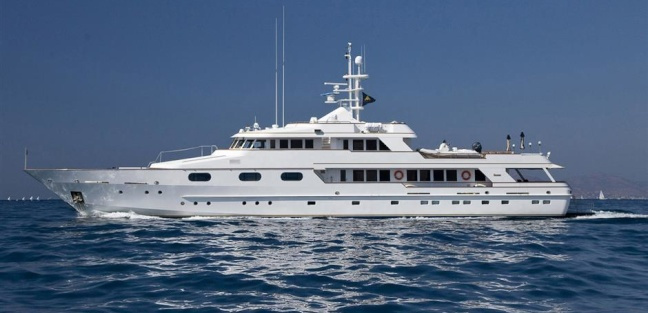 X Chios Classic Charter Yacht