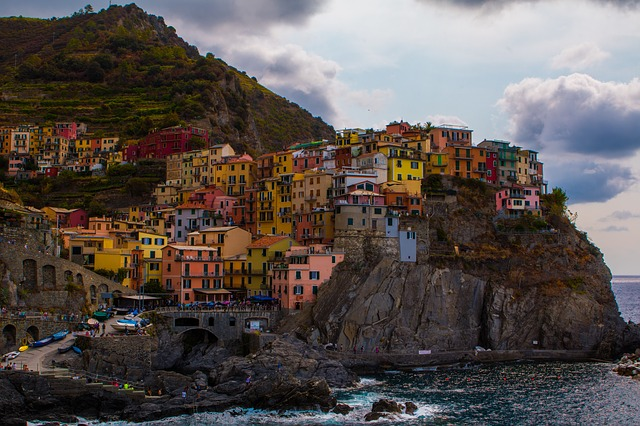 The beautiful Italian Riviera