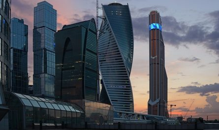 Investment City Moscow Skyscrapers
