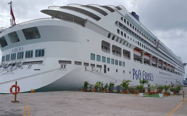 Japanese Man Arrested for Free Ride on Luxury Liner