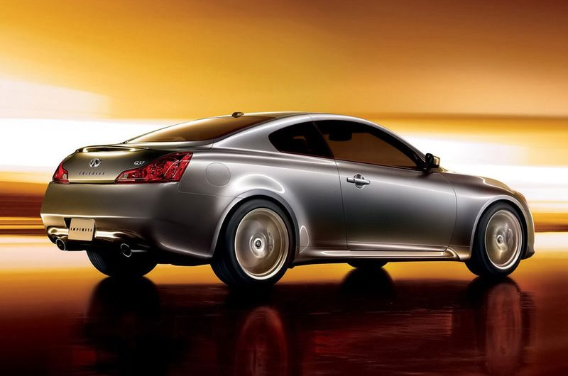 Nissan Reveals Luxury Infinity G37 Coupe