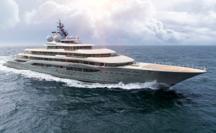 The New Megayacht Project Platinum