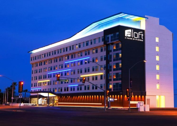 Aloft: Rooms With Stylish Design and Cool Technology
