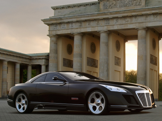 Maybach Exelero: Sexy And Luxury Batmobile